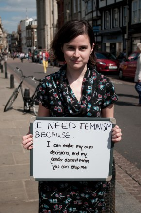 I Need Feminism Because…